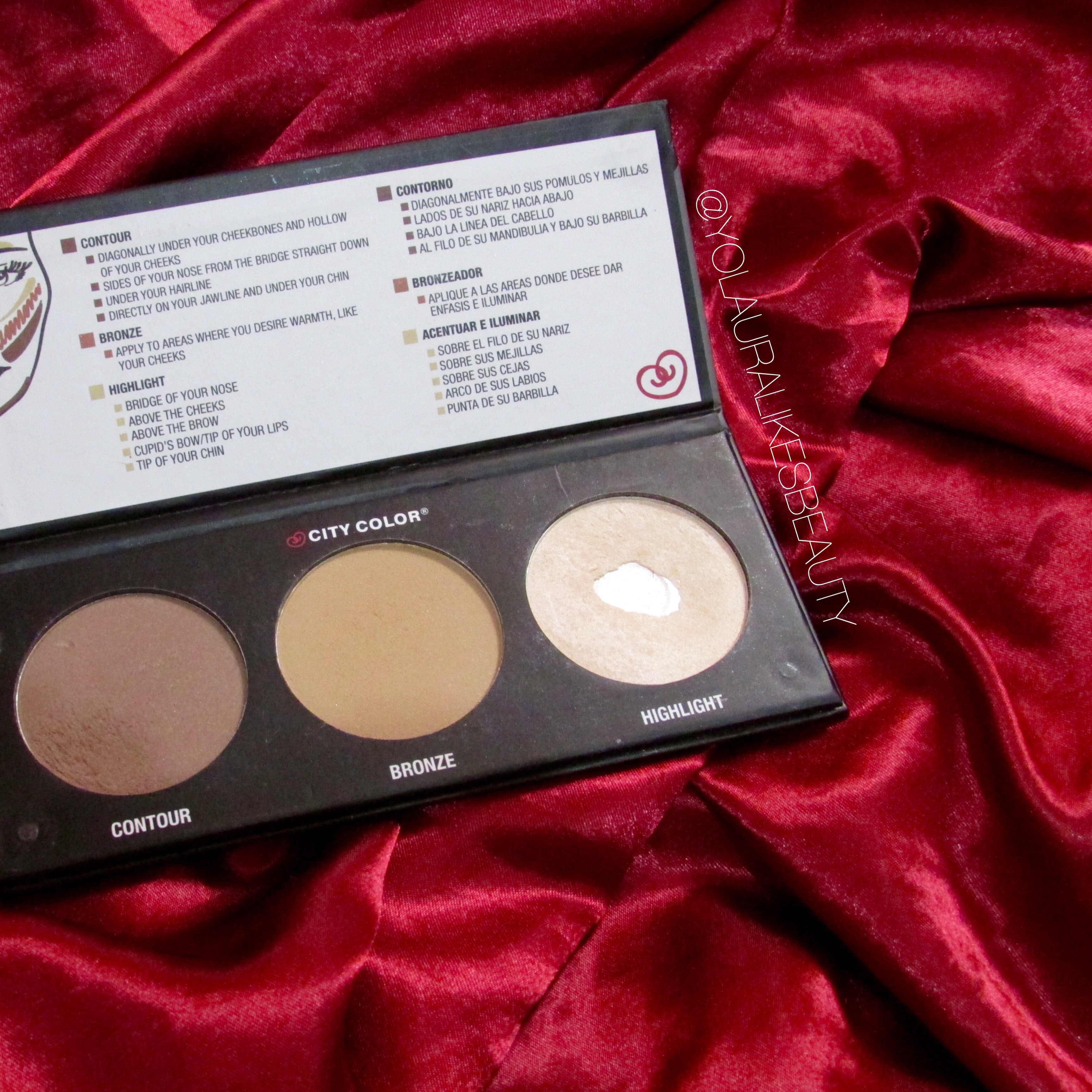 City Color Cosmetics Contour Effects 2 Product Review
