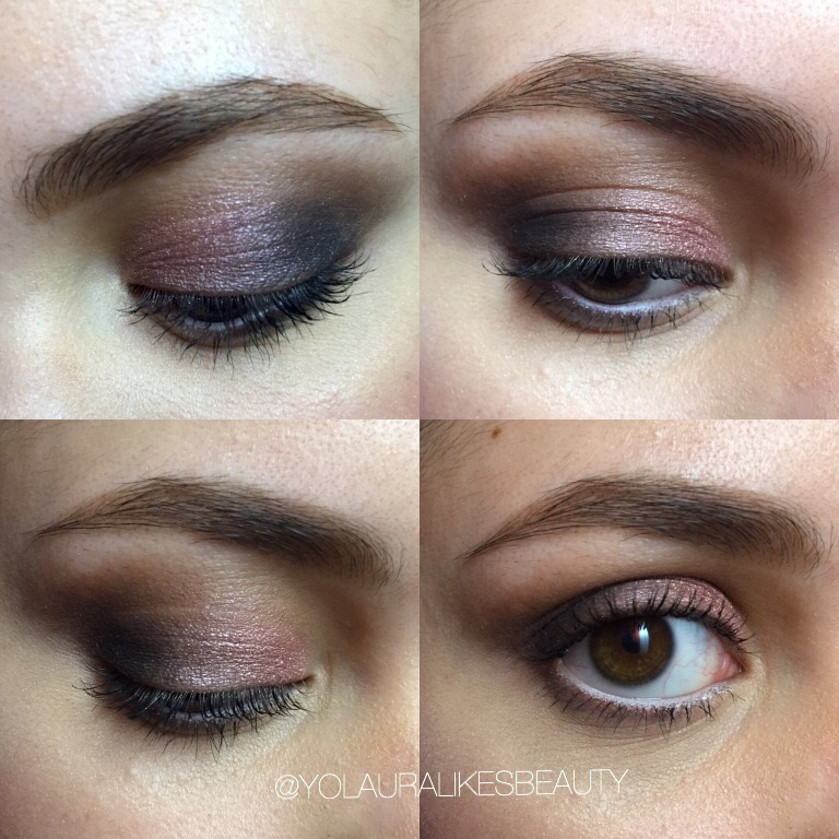 Urban Decay Naked 3 Eye Makeup Look